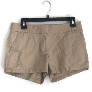 """Women's J Crew Chino Shorts 2.5"""" inseam size 4"""
